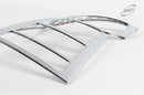 For Kia Carens 2006 - 2012 Chrome Tail Light Covers Trim Set