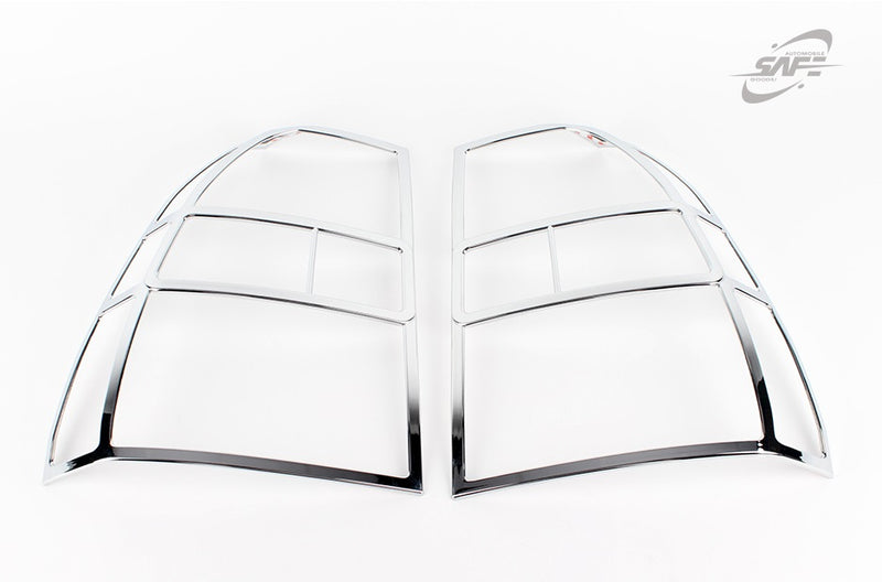 For Kia Sportage 2005 - 2008 Chrome Tail Light Trim Covers Set