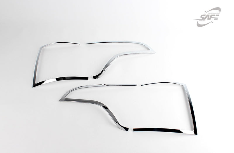 For Kia Sorento 2013 - 2014 Chrome Tail Light Trim Covers Set