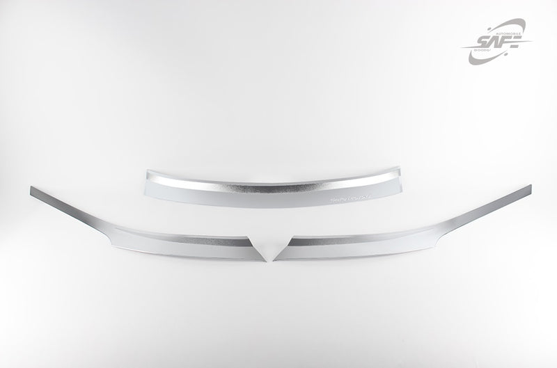 For Hyundai Santa Fe 2013 - 2018 Chrome Bonnet Guard Protector Set