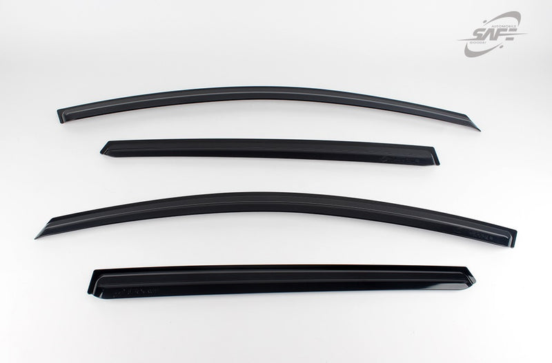 For Hyundai i30 2007 - 2011 Estate Wind Deflector Set (4 pieces)