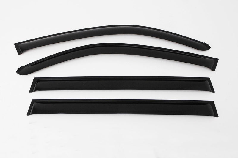 Auto Clover Wind Deflectors Set for Ssangyong Rexton 2003 - 2013 (4 pieces)