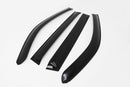 Auto Clover Wind Deflectors Set for SsangYong Rexton W 2014 - 2017 (4 pieces)