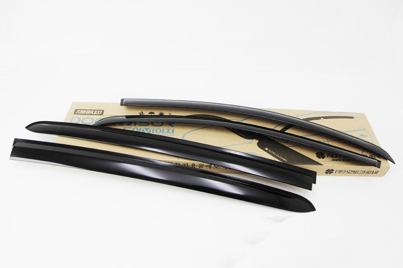 Auto Clover Wind Deflectors Set for Chevrolet Aveo 2011+ (4 pieces)