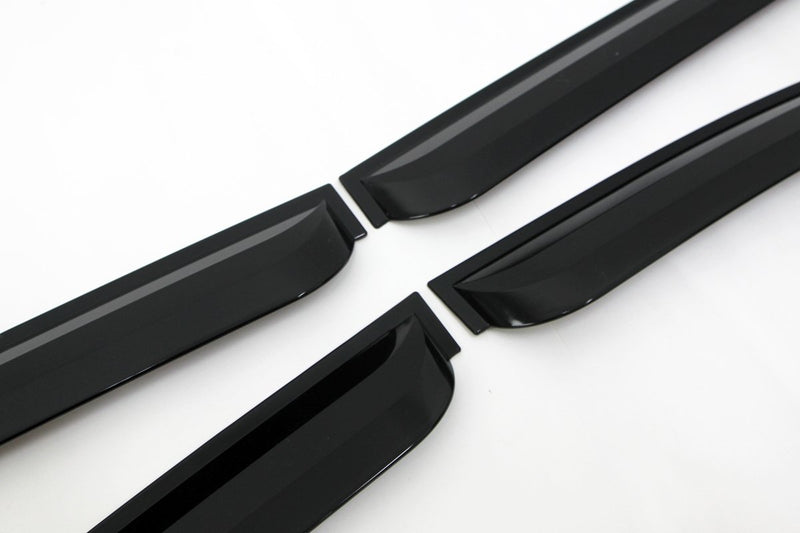 Auto Clover Wind Deflectors Set for Kia Sedona 2006 - 2014 (4 pieces)