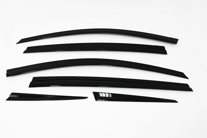 Auto Clover Wind Deflectors Set for Toyota Rav 4 2013 - 2018 (6 pieces)