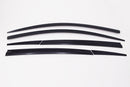 Auto Clover Wind Deflectors Set for Jeep Compass 2017+ (6 pieces)