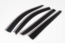 Auto Clover Wind Deflectors Set for Mitsubishi L200 2006 - 2015 Double Cab 4 pcs