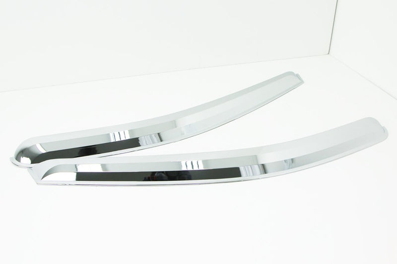Auto Clover Chrome Wind Deflectors Set for Hyundai i800 / iLoad 2008+ (2 pieces)