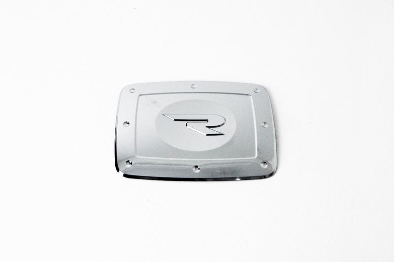 Auto Clover Chrome Fuel Door Cover Trim for SsangYong Rexton 2003 - 2013