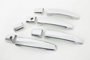Auto Clover Chrome Exterior Door Handle Trim for Vauxhall Opel Zafira B 2005-14