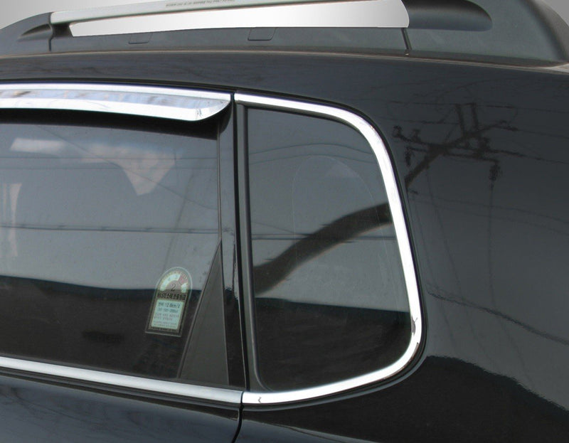 Auto Clover Chrome C Pillar Cover Trim Set for Hyundai Tucson 2004 - 2010