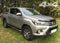 For Toyota Hilux 2016+ T304 Stainless Steel Side Steps Bars Set 3""