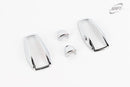 For Kia Picanto 2009 - 2011 Chrome Exterior Trim Washer Jet & Indicator Covers