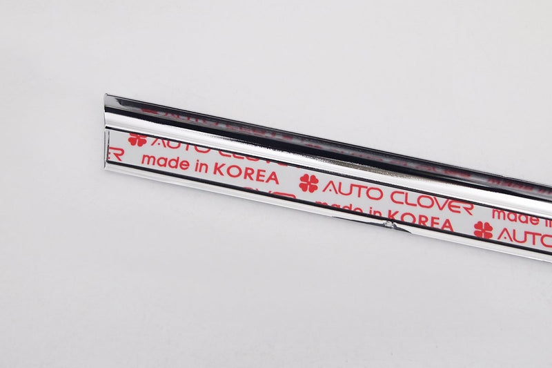 Auto Clover Chrome Side Window Rubber Cover Trim Set for Hyundai Ioniq