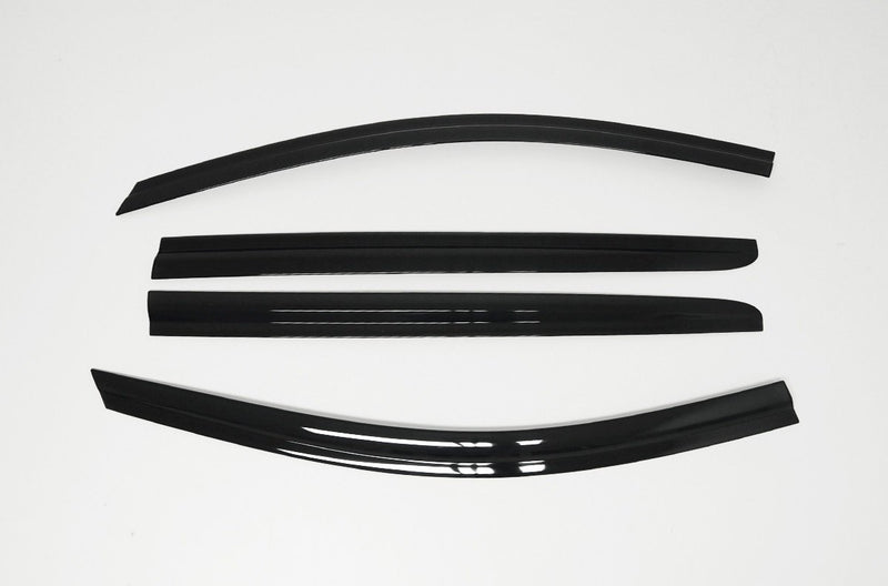 Auto Clover Wind Deflectors Set for Ssangyong Turismo 2013+ (4 pieces)