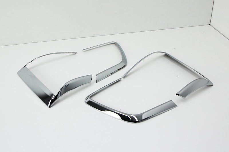 Auto Clover Chrome Tail Light Trim Covers Set for Kia Sorento 2010 - 2012