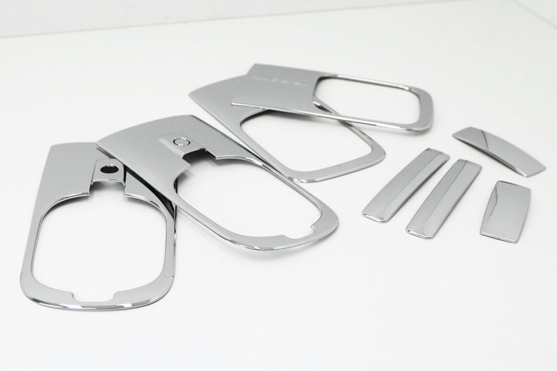 Auto Clover Chrome Door Handle Trim Cover Set for the Hyundai i800 2008+