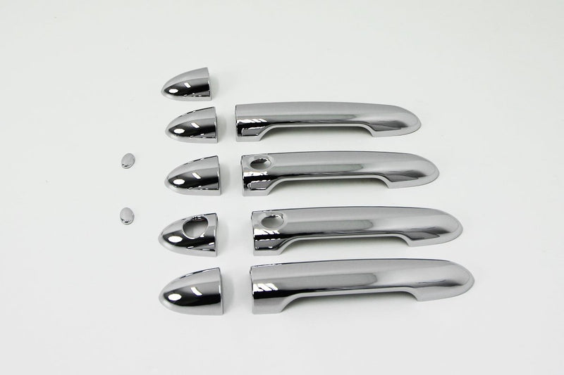 Auto Clover Chrome Exterior Door Handle Covers Trim Set for Kia Rio 2012 - 2016