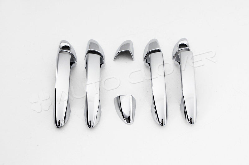 Auto Clover Chrome Door Handle Cover Trim Set for Hyundai i20 2015 - 2019