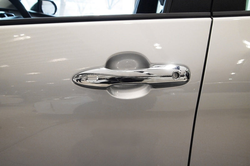 Auto Clover Chrome Exterior Door Handle Covers Trim for Toyota Prius 2016+