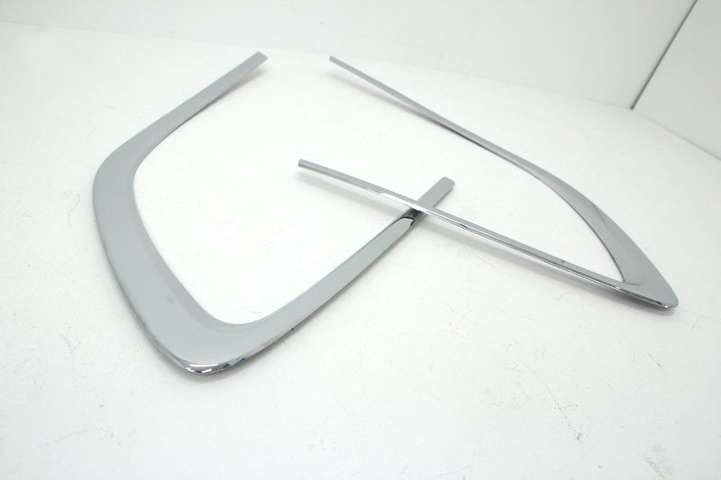 Auto Clover Chrome C Pillar Cover Trim Set for Kia Carens 2013+