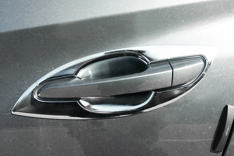 Auto Clover Chrome Door Handle Bowl Trim Set for Hyundai Tucson 2015+