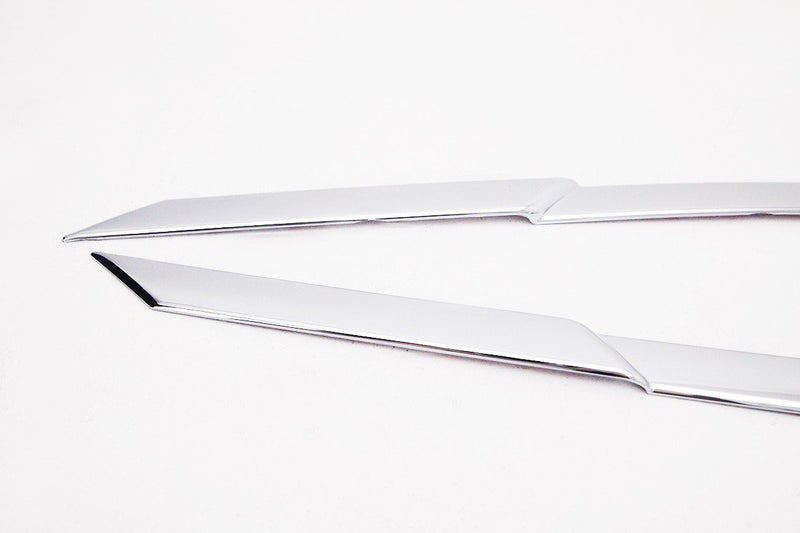 Auto Clover Chrome Side Window Top Frame Trim Cover Set for Hyundai Tucson 2015+