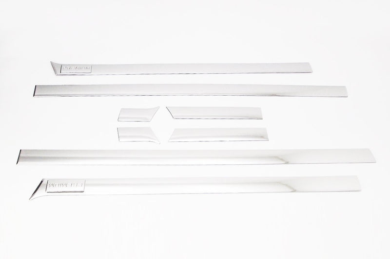 Auto Clover Chrome Side Door Trim Set for Hyundai i800 / iLoad 2008+