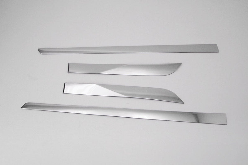 Auto Clover Chrome Side Door Trim Set for Toyota Prius 2016+