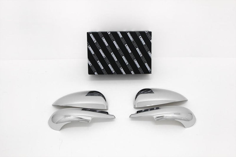 Auto Clover Chrome Wing Mirror Cover Trim Set for Chevrolet Aveo 2011+