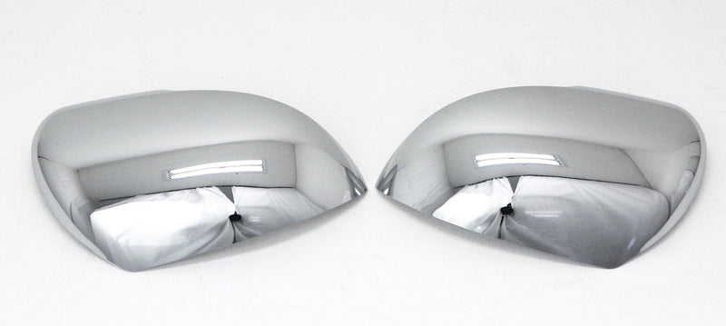 Auto Clover Chrome Wing Mirror Cover Trim Set for Kia Rio 2012 - 2016