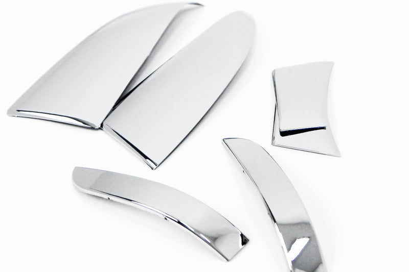 Auto Clover Chrome Wing Mirror Cover Trim Set for Vauxhall Opel Mokka