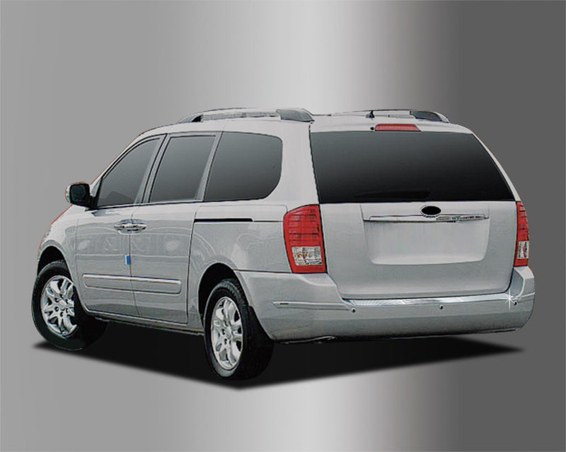 Auto Clover Chrome Rear Bumper Protector Guard for Kia Sedona 2006 - 2014