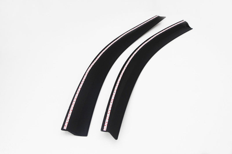 Auto Clover Front Wind Deflectors Set for Mitsubishi L200 2006 - 2015 (2 pieces)