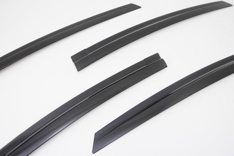 Auto Clover Wind Deflectors Set for Toyota Prius 2010 - 2015 (4 pieces)