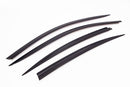 Auto Clover Premium Wind Deflectors Set for BMW 5 Series F10 2010 - 2016 (4 pcs)