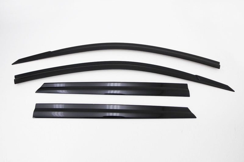 Auto Clover Wind Deflectors Set for Hyundai Santa Fe 2007 - 2012 (4 pieces)