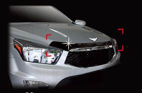 Auto Clover Bonnet Guard Protector for Ssangyong Korando Sports / Musso 2013-18