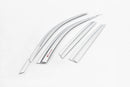 Auto Clover Chrome Wind Deflectors Set for Hyundai Tucson 2015 - 2020 (6 pieces)