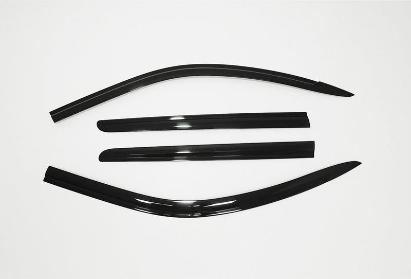 Auto Clover Wind Deflectors Set for Ssangyong Musso 2019+ (4 pieces)