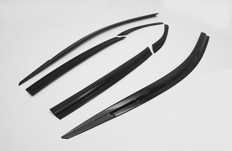 Auto Clover Wind Deflectors Set for Hyundai Kona 2017+ (6 pieces)
