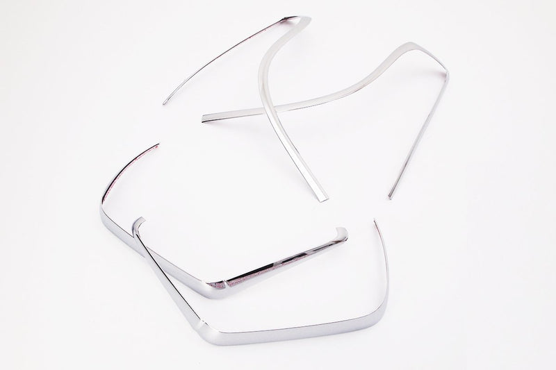 Auto Clover Chrome Tail Light Covers Trim Set for Ssangyong Tivoli 2014+