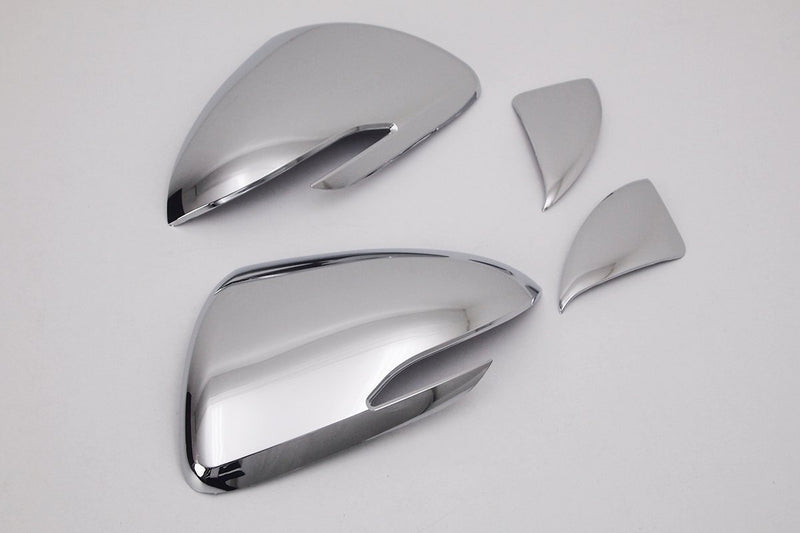 Auto Clover Chrome Wing Mirror Trim Set for Hyundai i30 2017+ LED TYPE