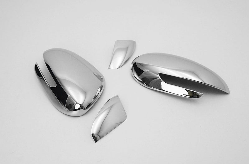 Auto Clover Chrome Wing Mirror Cover Trim Set for Kia Sportage 2016+
