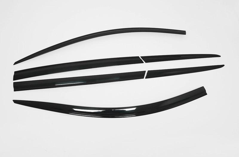 Auto Clover Wind Deflectors Set for Hyundai Santa Fe 2019+ (6 pieces)