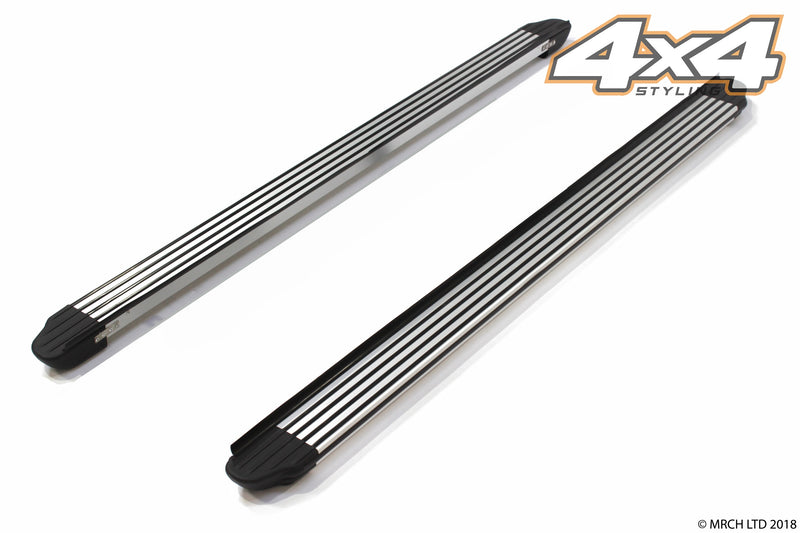For Kia Sportage 2005 - 2010 Side Steps Running Boards Set - Type 2