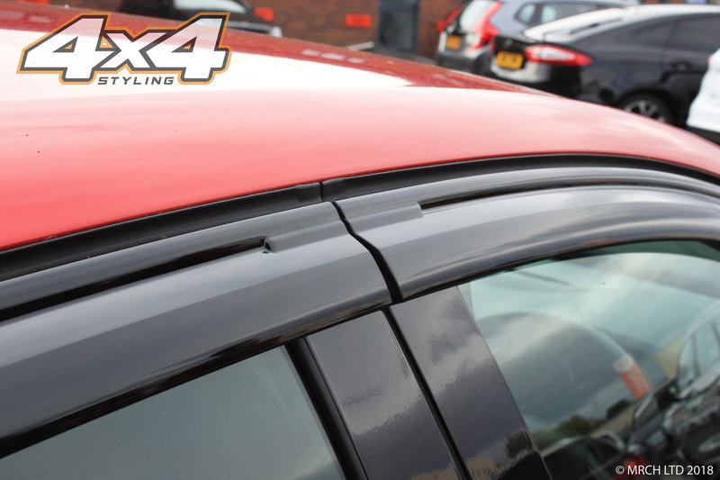 Auto Clover Wind Deflectors Set for Renault Clio MK4 2013+ Hatchback