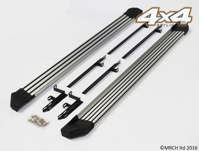 For Nissan Qashqai 2007 - 2013 Side Steps Running Boards Set