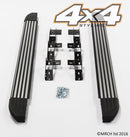 For Vauxhall Opel Antara 2007+ Side Steps Running Boards Set - Type 2